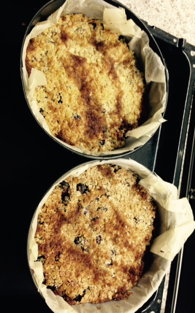Aronia from oven